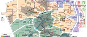 Tarife werden jetzt nach Ringen (HVV) und Zonen berechnet.