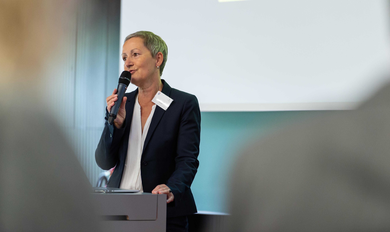 Frau Croll, Bildungskonferenz 2018