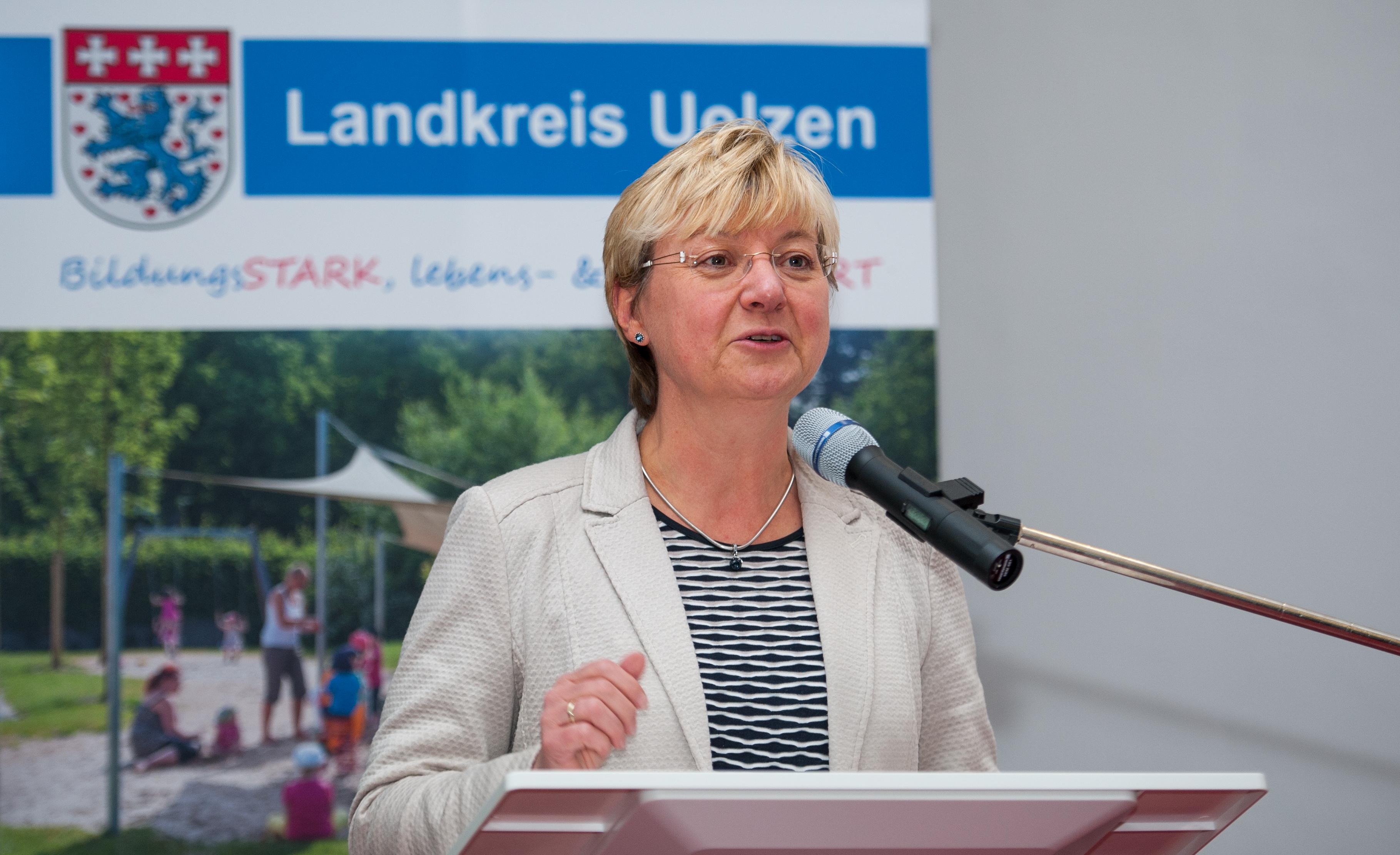 Kultusministerin zu Gast im Landkreis Uelzen